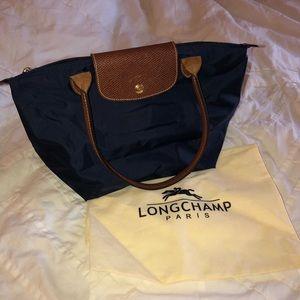 Navy Le Pilage Longchamp- Small